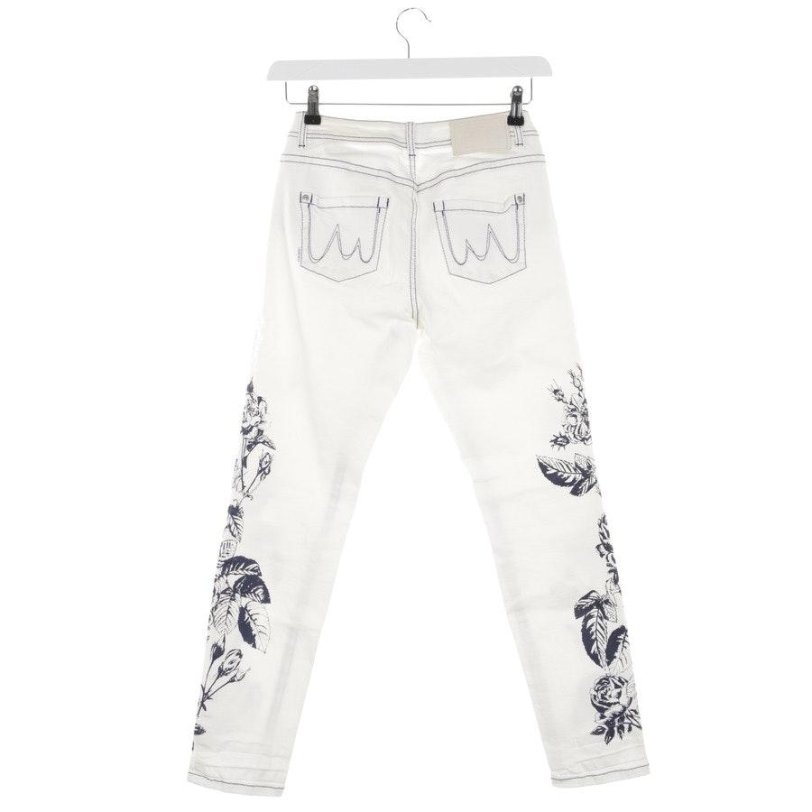 Jeans von Marc Cain in Marineblau und Weiß Gr. 36 N2