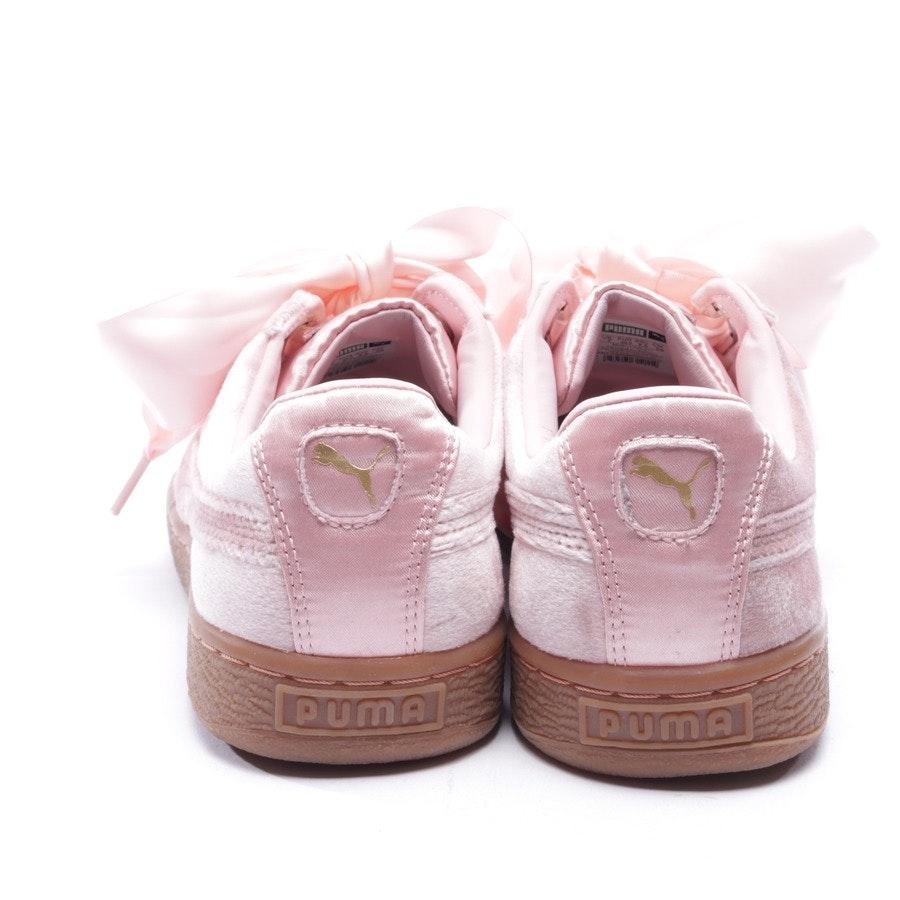 Sneaker von Puma in Rosa Gr. D 40,5 - Basket