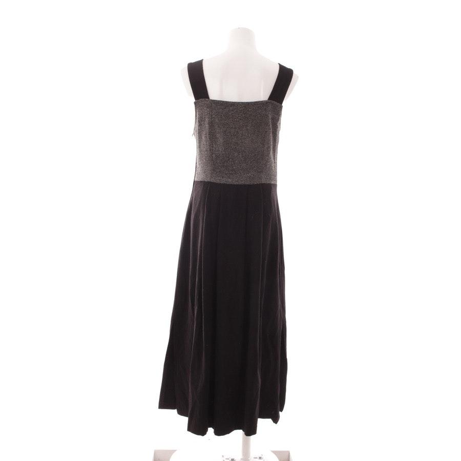 Kleid von Giesswein in Grau und Schwarz Gr. DE 40