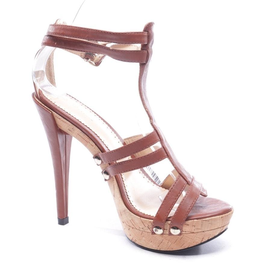 Sandaletten von Patrizia Pepe in Braun und Beige Gr. D 39