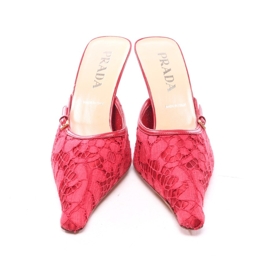 pumps from Prada in red size D 39,5 - new