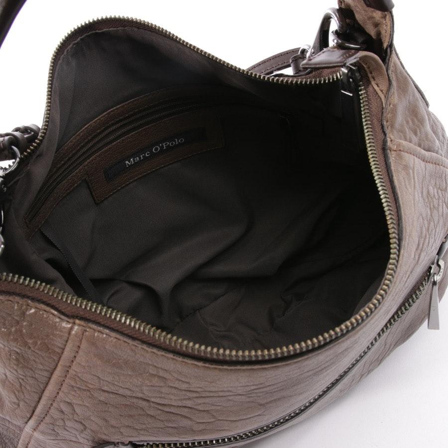 Handtasche von Marc O'Polo in Beige und Braun