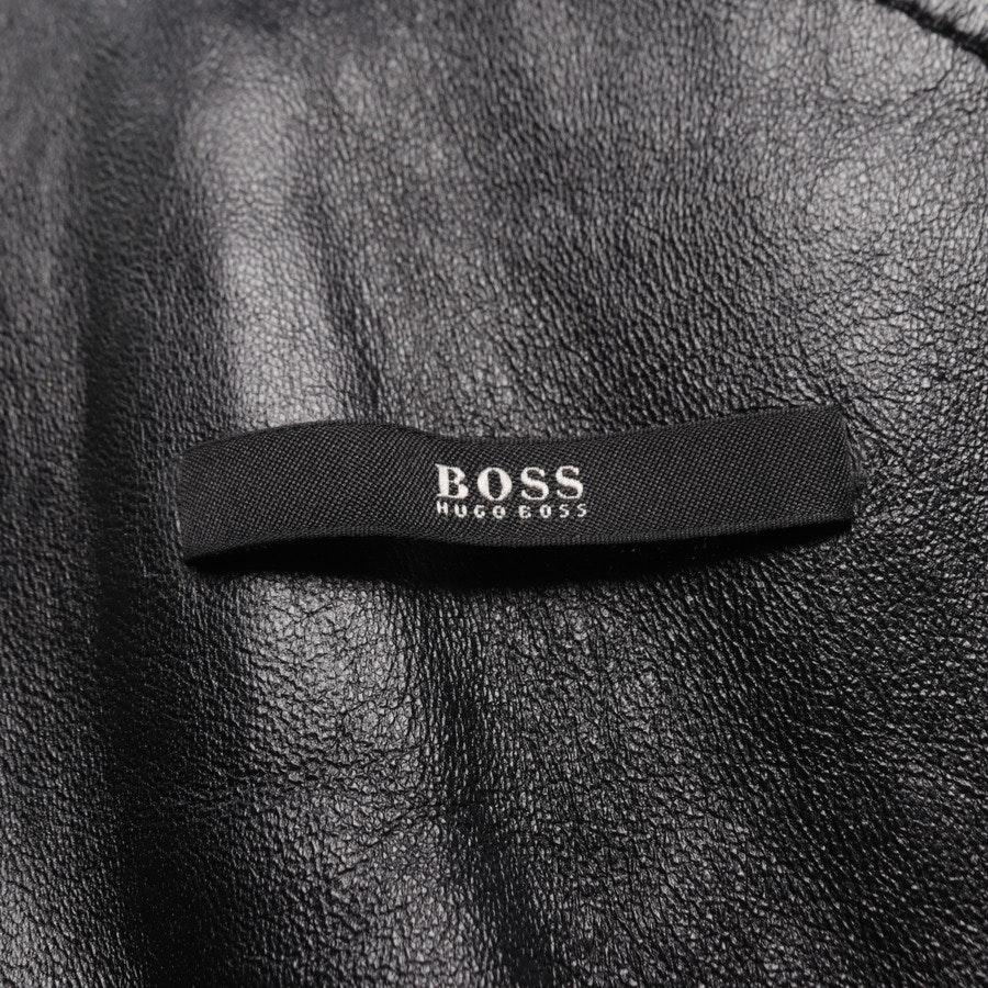 Lammfelljacke von Hugo Boss Black Label in Schwarz Gr. 40