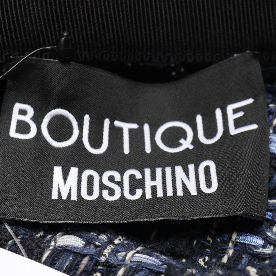 Rock von Boutique Moschino in Blau Gr. 38 - Neu
