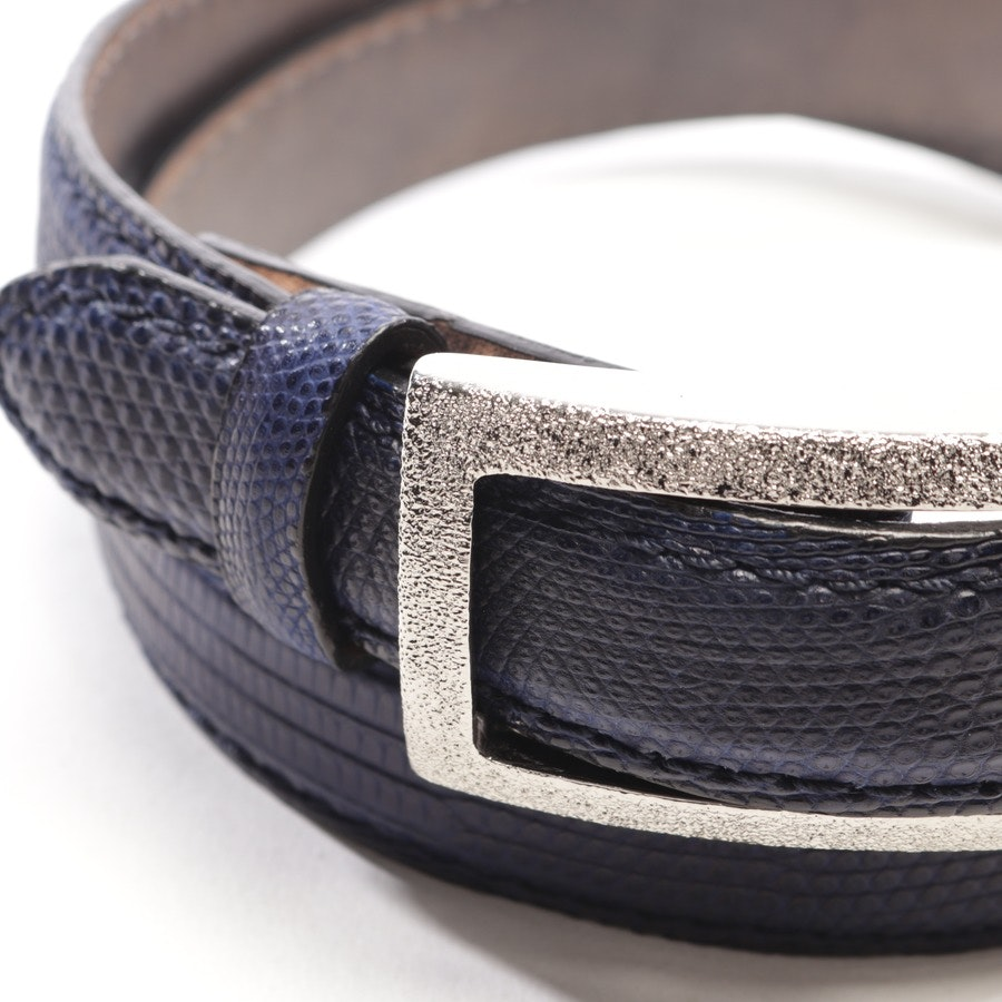 belt from Reptile´s House in dark blue size 80 cm