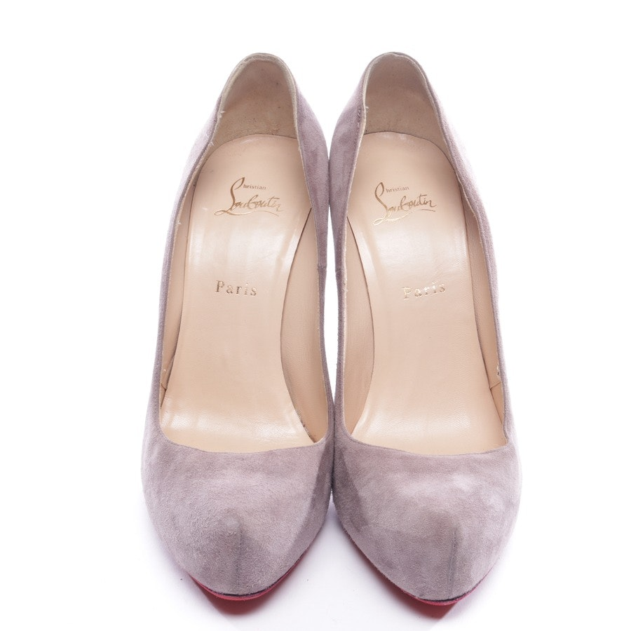 Pumps von Christian Louboutin in Taupe Gr. D 41
