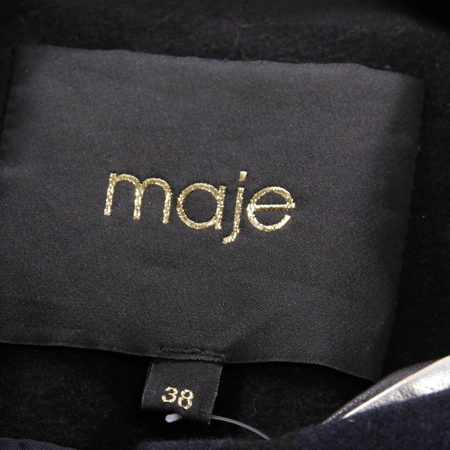 between-seasons jackets from Maje in black and blue size 36 FR 38