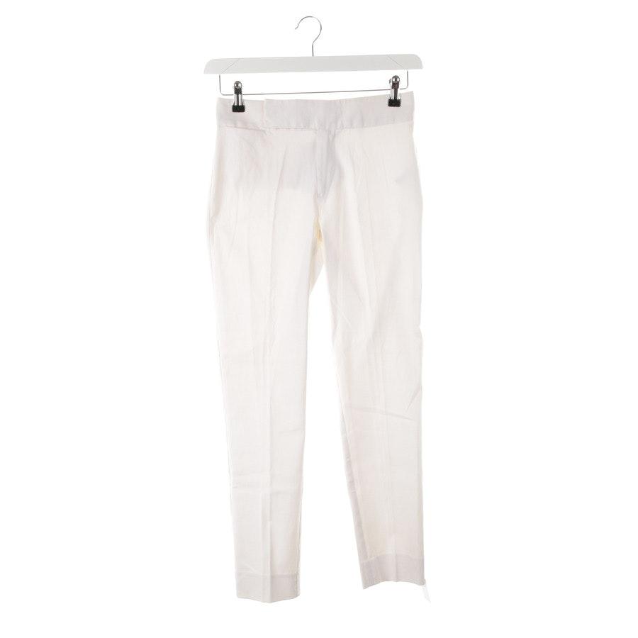 Hose von Ralph Lauren Black Label in Weiß Gr. 32 US 2 - NEU