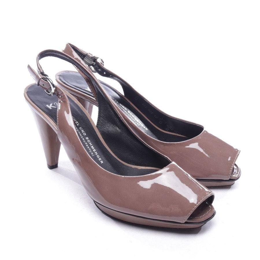 Sandaletten von Kennel & Schmenger in Braun Gr. D 39 UK 6