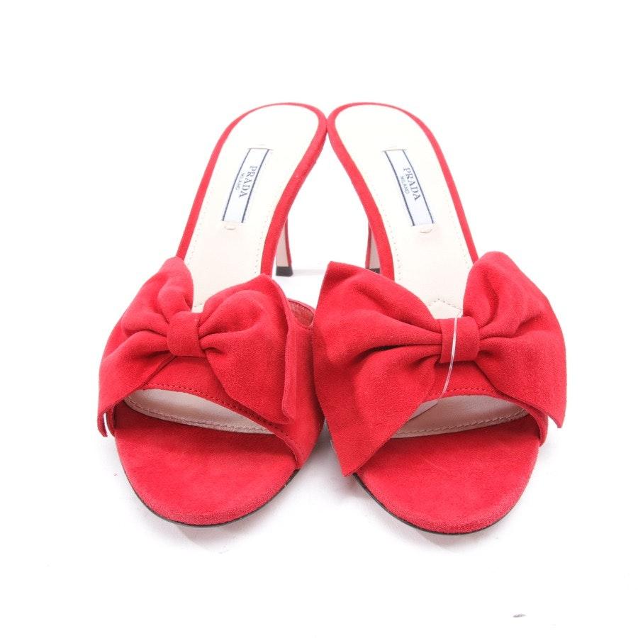 Sandaletten von Prada in Rot Gr. EUR 37 - Neu