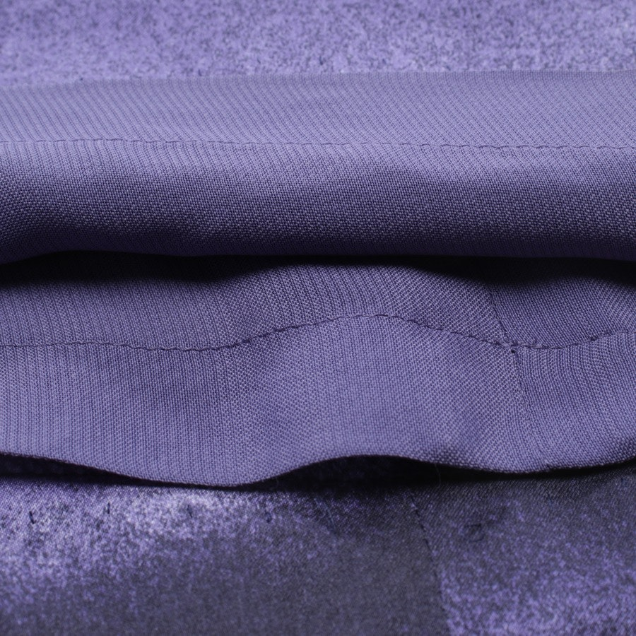 dress from Max Mara in purple and black size 38