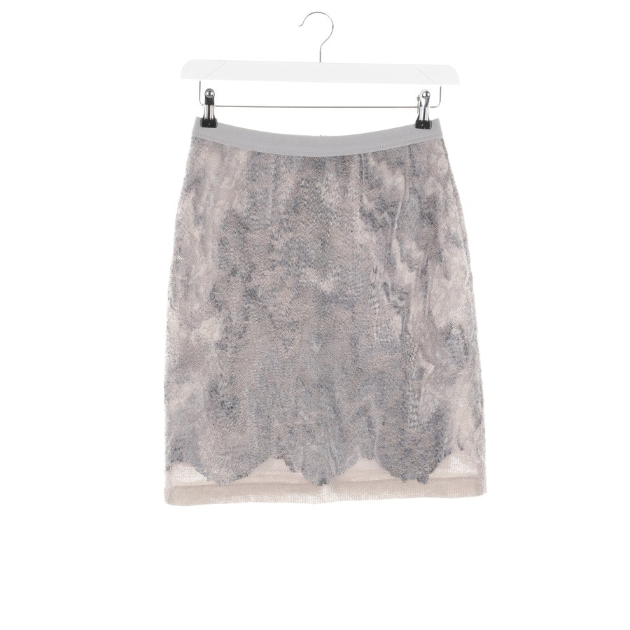 skirt from Marc Cain in grey and beige size 36 N2