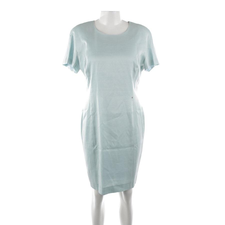 Kleid von Aigner in Mintgrün und Weiß Gr. 42