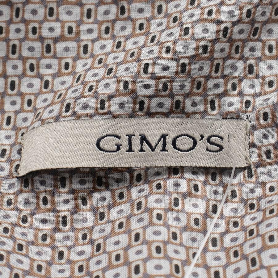 Lederjacke von Gimo's in Dunkelbraun Gr. M