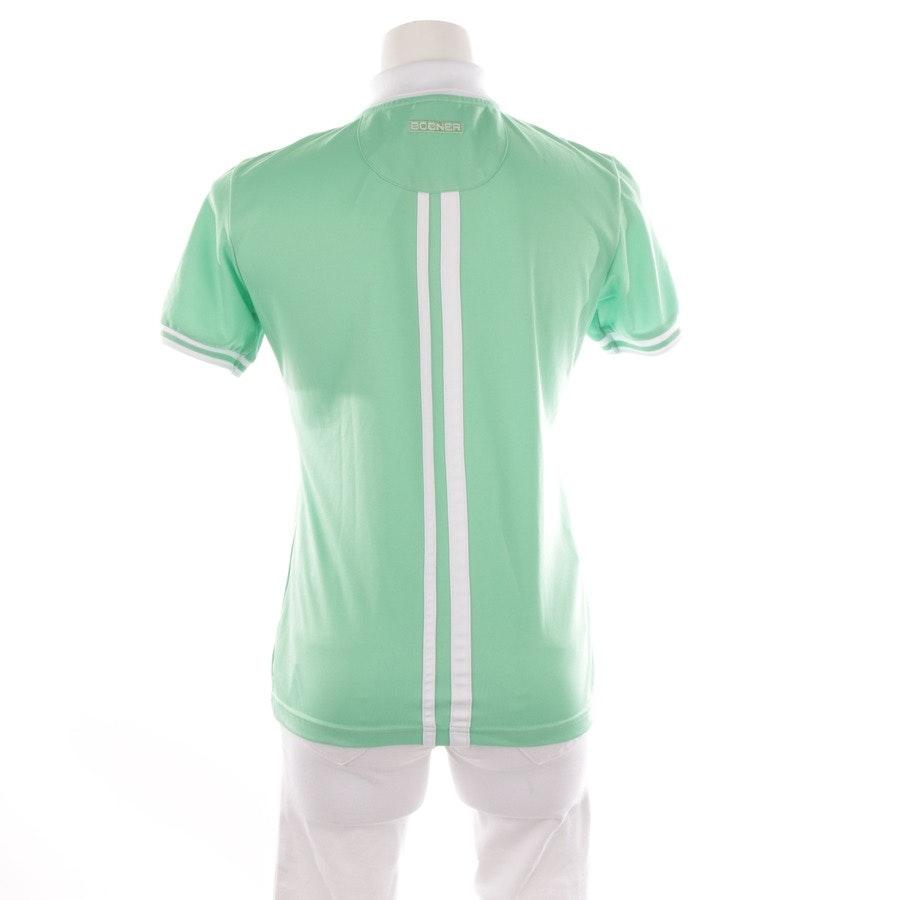 Poloshirt von Bogner in Apfelgrün und Weiß Gr. 36