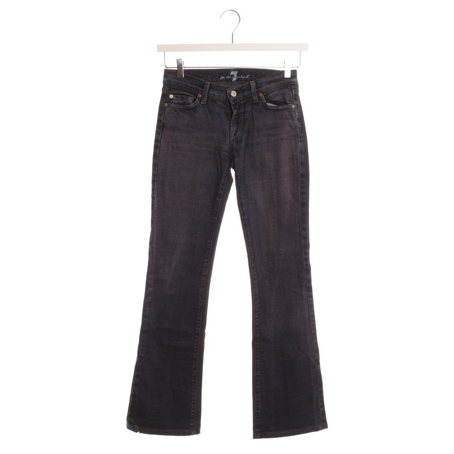 Jeans von 7 for all mankind in Dunkelblau Gr. W26