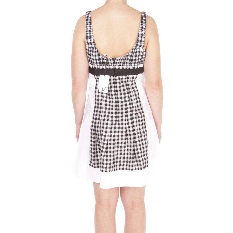 Kleid von Diane von Furstenberg in Schwarz und Weiß Gr. DE 36 US 6 - Daisy - Neu mit Etikett