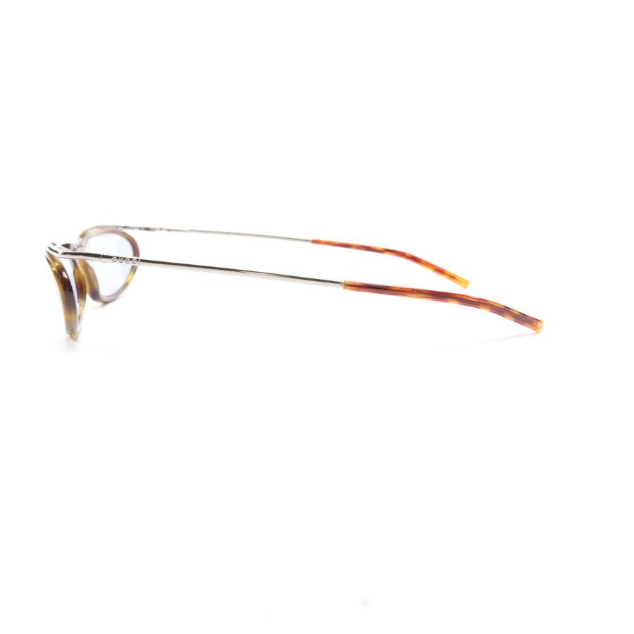 Sonnenbrille von Gucci in Gelb und Braun - GG2673/S