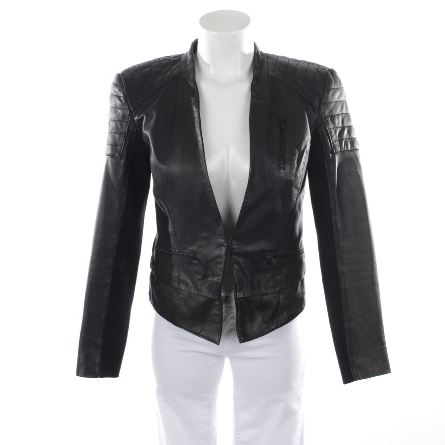 leather jacket from Stand in black size 36