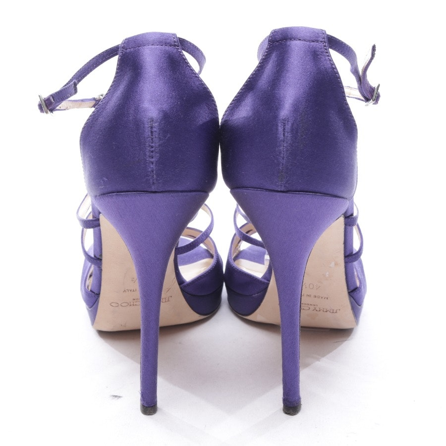 heeled sandals from Jimmy Choo in purple size D 40,5