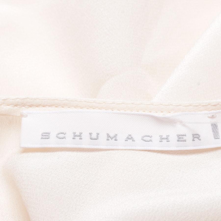 Seidenbluse von Schumacher in Beige Gr. 40 / 4