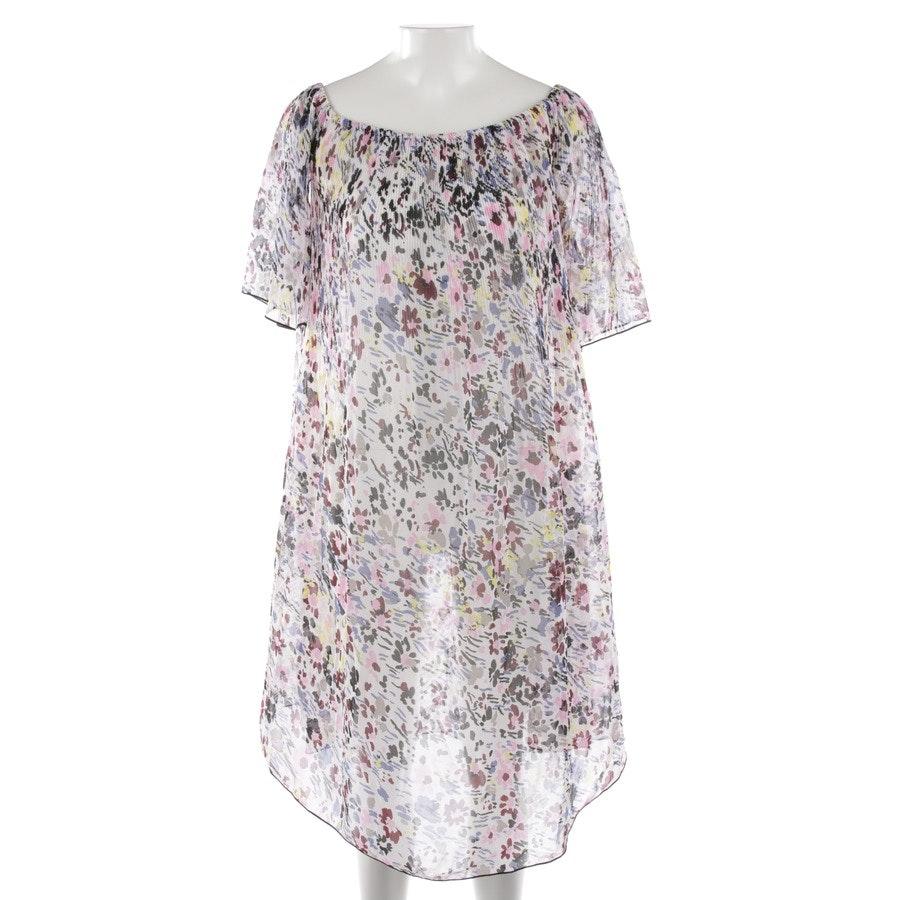 Kleid von Ganni in Weiß und Multicolor Gr. 32 FR 34