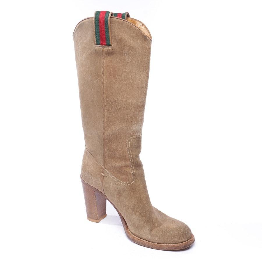 Stiefel von Gucci in Camel Gr. EUR 39,5