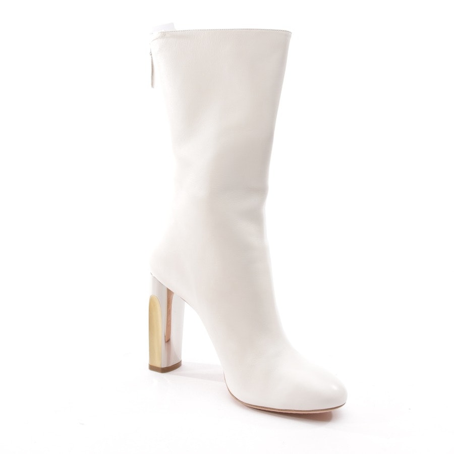 boots from Alexander McQueen in cream size D 40
