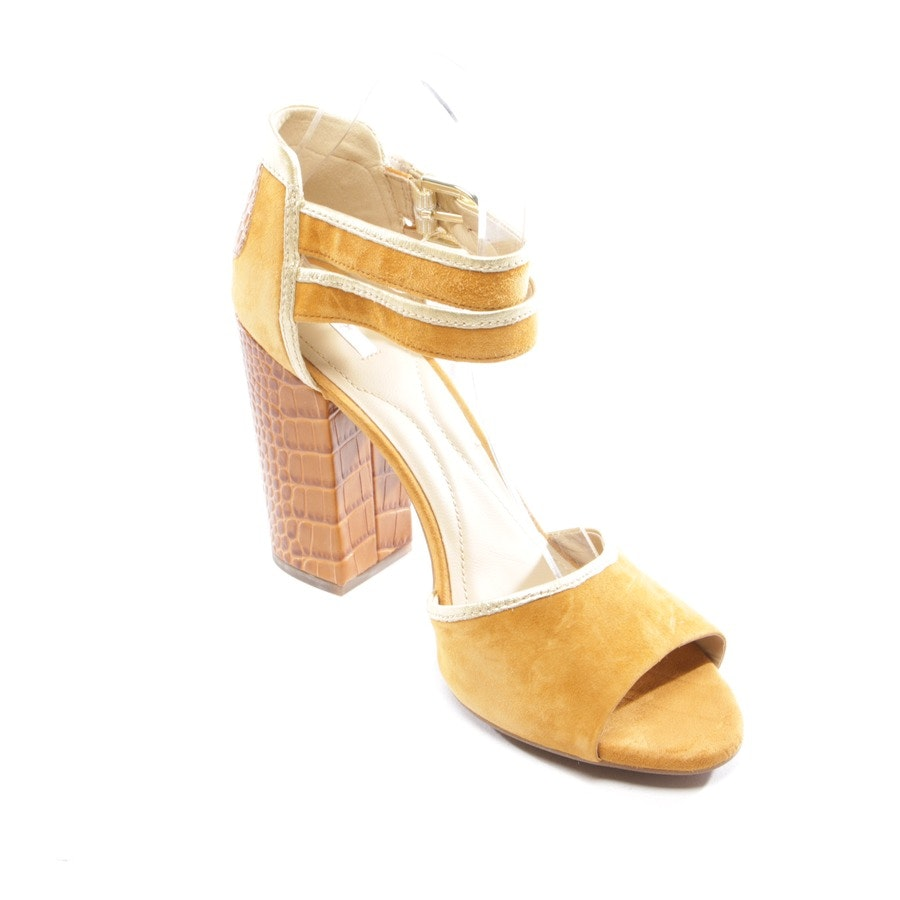 heeled sandals from Geox in cognac size D 41
