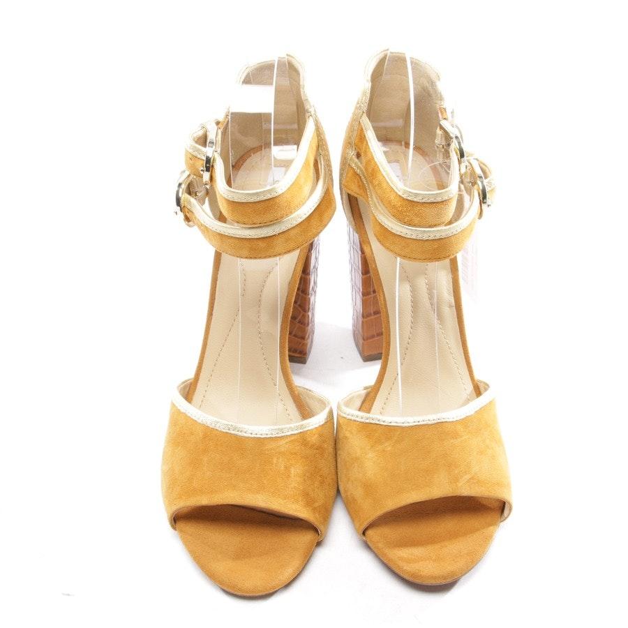 Sandaletten von Geox in Cognac Gr. D 41