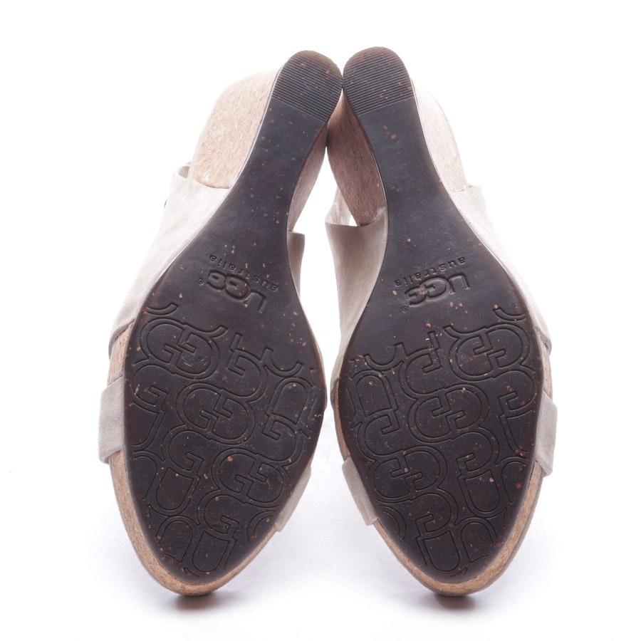heeled sandals from UGG Australia in beige size D 37 - hazel