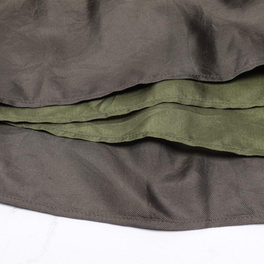 Seidenrock von Burberry London in Khaki Gr. 36