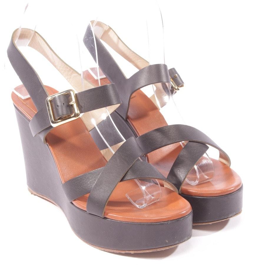 Sandaletten von Chloé in Schwarz Gr. D 38,5