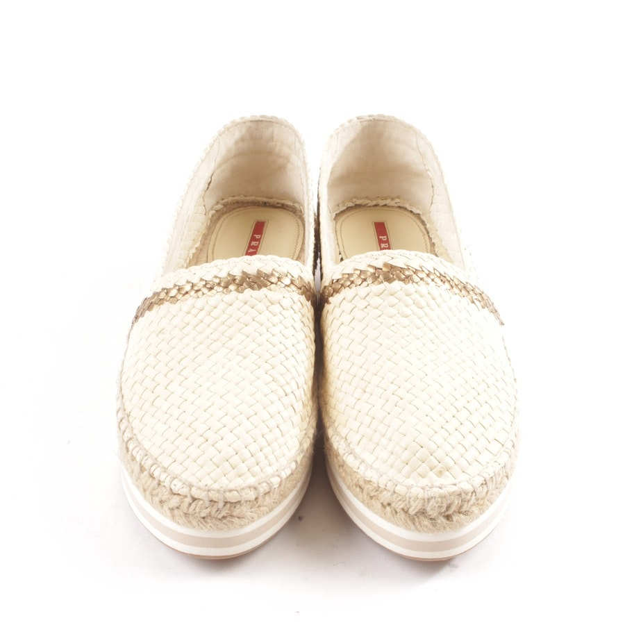 trainers from Prada Linea Rossa in beige size D 40 - new