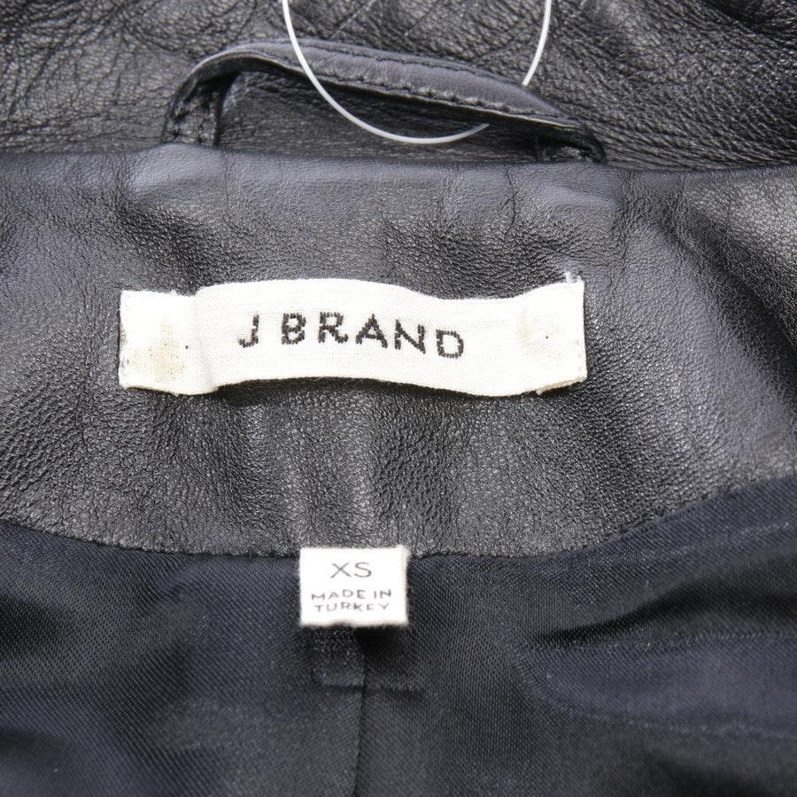 Lederjacke von J Brand in Schwarz Gr. XS