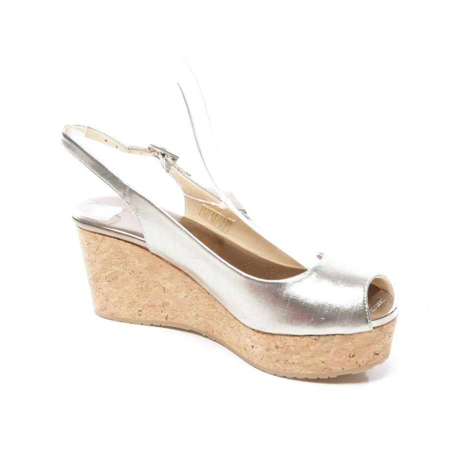 heeled sandals from Jimmy Choo in bronze size D 37,5 - new