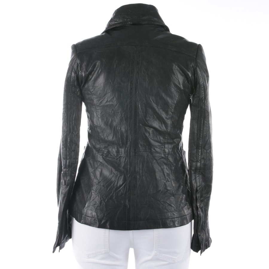 leather jacket from Drykorn in black size 40