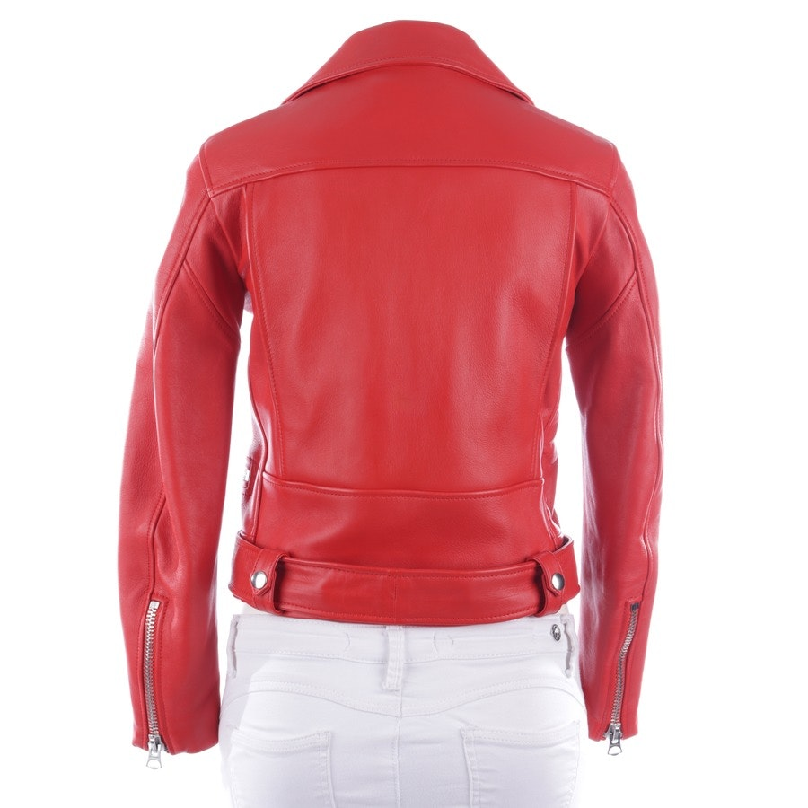 leather jacket from Acne Studios in red size 36 - new