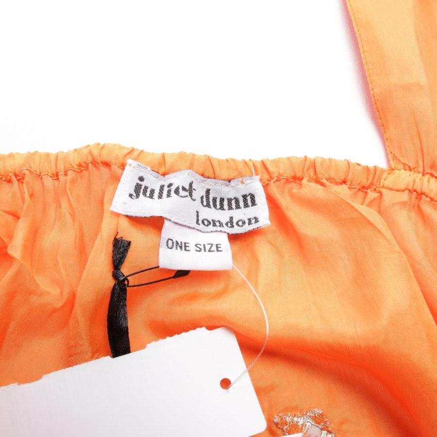 Seidenkleid von Juliet Dunn London in Orange und Pink Gr. One Size - Neu