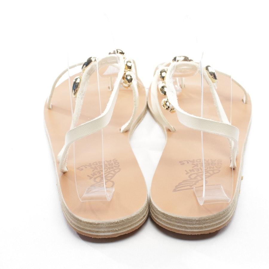 Sandalen von Ancient Greek Sandals in Offwhite Gr. D 40 - Neu