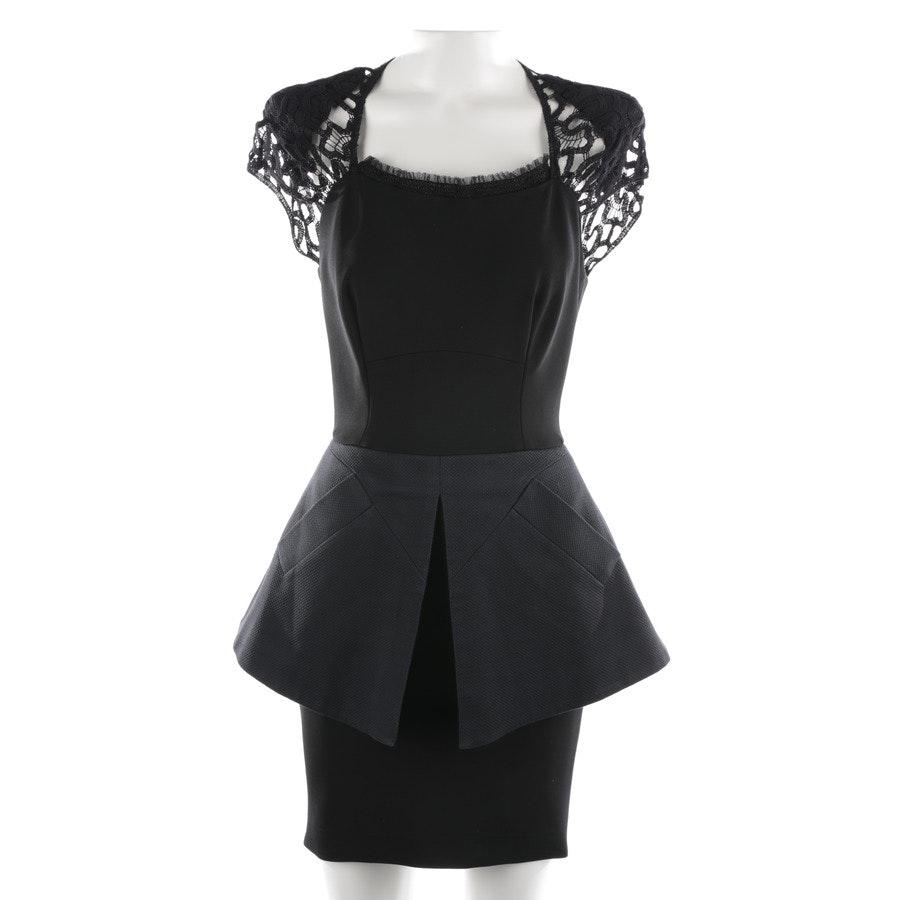 Kleid von Victoria Beckham in Schwarz und Blau Gr. 36 UK 10
