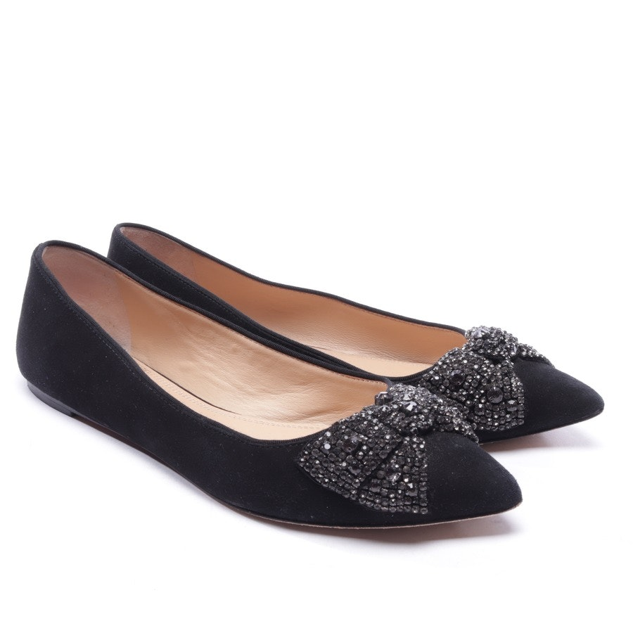 loafers from Tory Burch in black size EUR 40,5 US 10