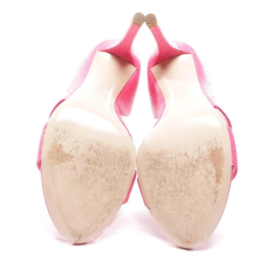 Sandaletten von Miu Miu in Pink Gr. D 36,5