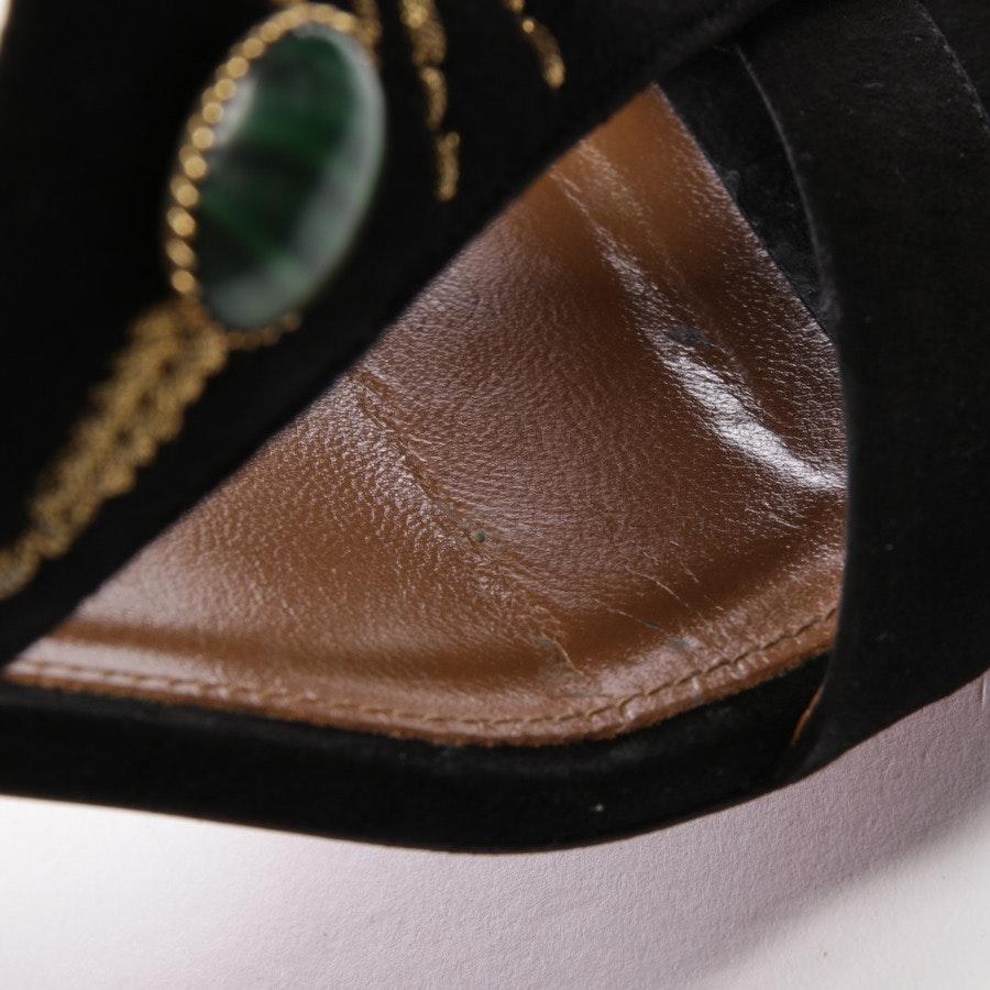 Sandaletten von Aquazzura in Multicolor Gr. D 35 - Desert Sun 50