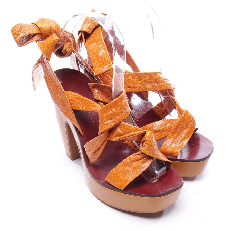 Sandaletten von Marc by Marc Jacobs in Orange Gr. D 38 - Neu