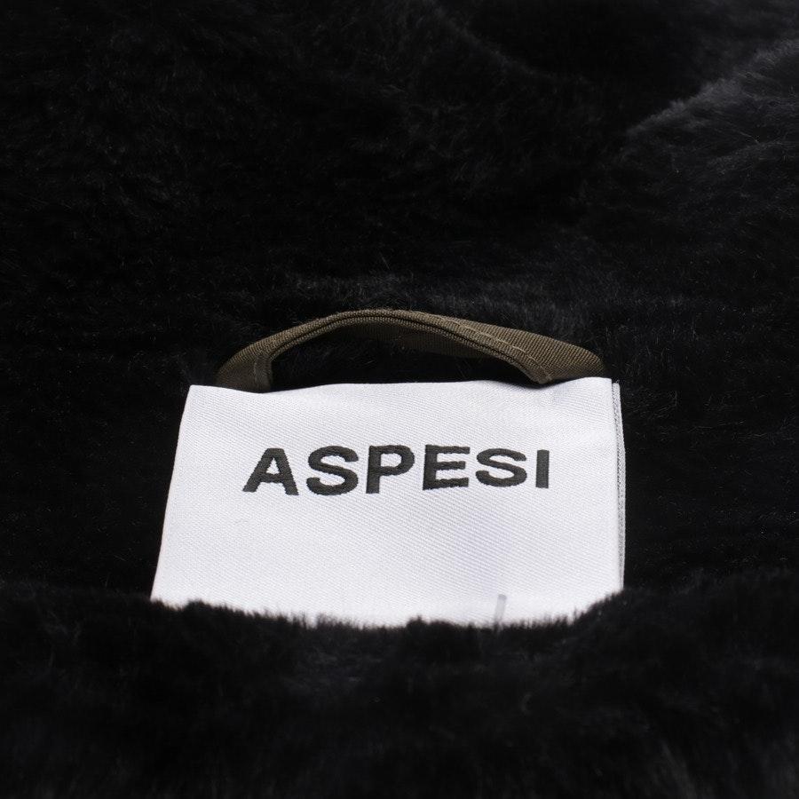 Winterjacke von Aspesi in Khaki Gr. S