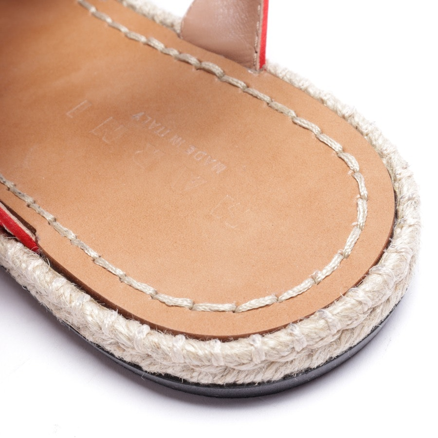 flat sandals from Marni in red size EUR 39