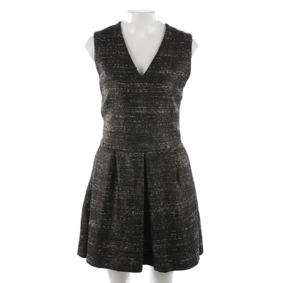 Kleid von Karl Lagerfeld in Bronze und Grau Gr. 32
