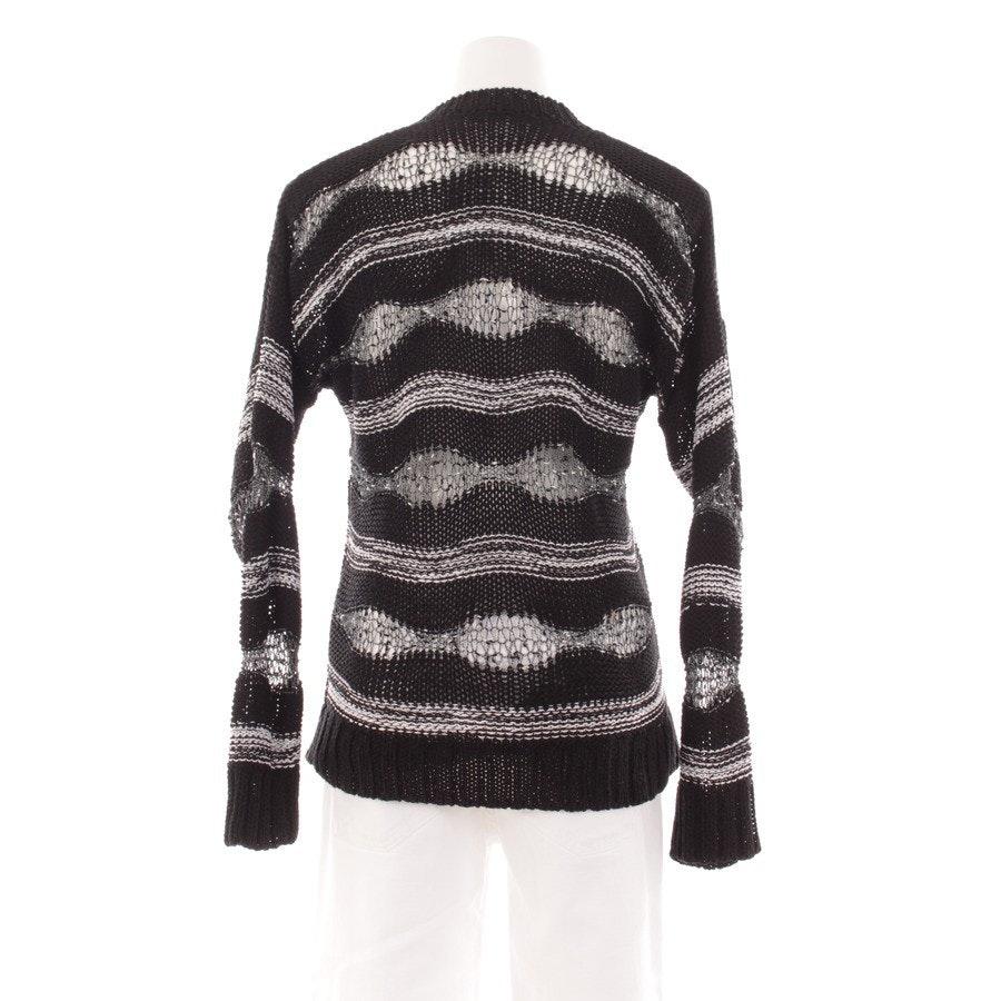 Pullover von Kennel & Schmenger in Schwarz und Weiß Gr. M