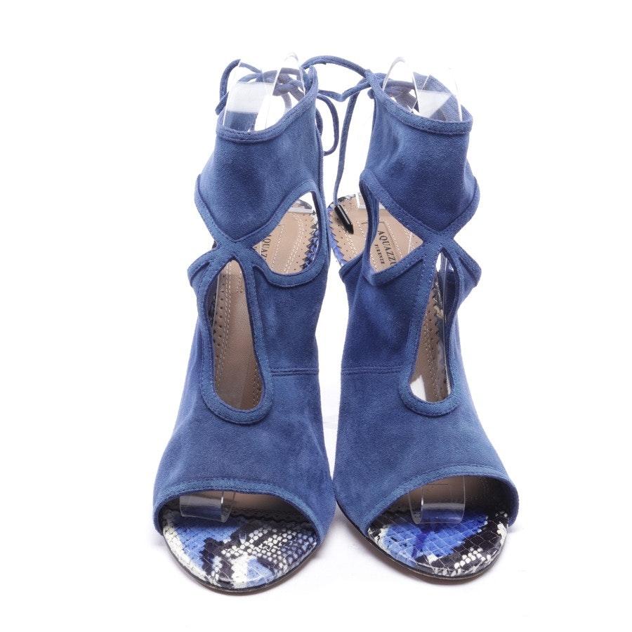 Sandaletten von Aquazzura in Blau Gr. D 38,5